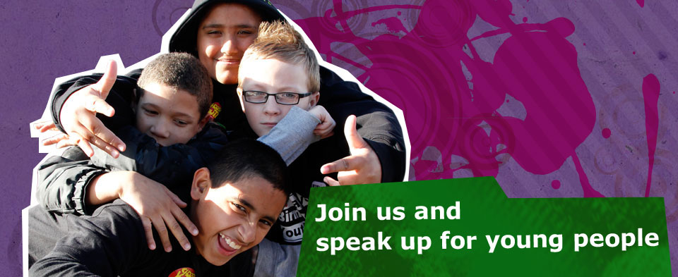 Join us and speak up for young people